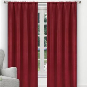 Other - Red Blackout Curtains
